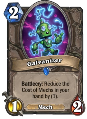 Hearthstone Boomsday Project - Galvanizer