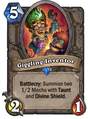 Hearthstone Boomsday Project - Giggling Inventor