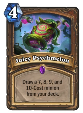 Hearthstone Boomsday Project - Juicy Psychmelon