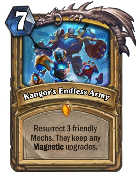 Hearthstone Boomsday Project - Kangors Endless Army