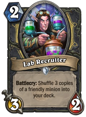 Hearthstone Boomsday Project - Lab Recruiter