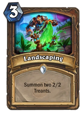 Hearthstone Boomsday Project - Landscaping