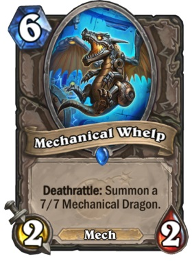 Hearthstone Boomsday Project - Mechanical Whelp