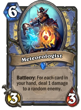 Hearthstone Boomsday Project - Meteorologist