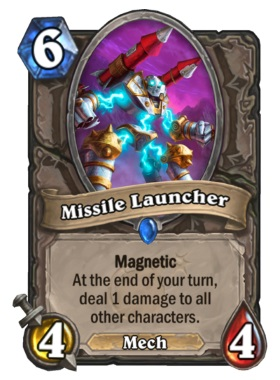 Hearthstone Boomsday Project - Missile Launcher