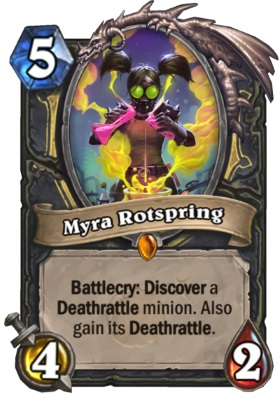 Hearthstone Boomsday Project - Myra Rotspring