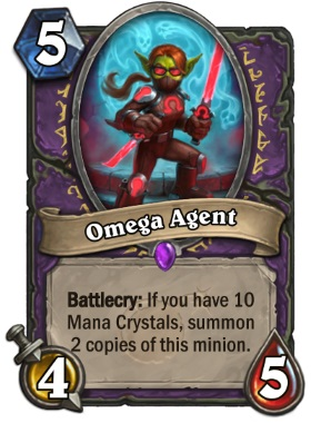 Hearthstone Boomsday Project - Omega Agent
