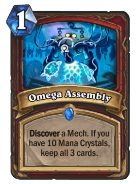 Hearthstone Boomsday Project - Omega Assembly
