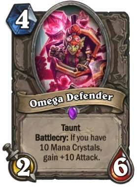 Hearthstone Boomsday Project - Omega Defender