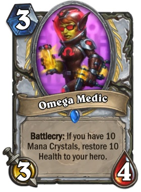 Hearthstone Boomsday Project - Omega Medic