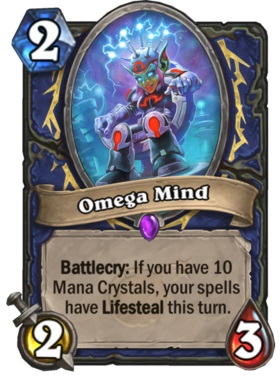 Hearthstone Boomsday Project - Omega Mind