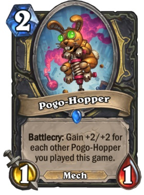 Hearthstone Boomsday Project - Pogo-Hopper