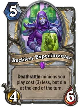 Hearthstone Boomsday Project - Reckless Experimenter