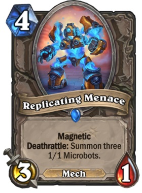 Hearthstone Boomsday Project - Replicating Menace