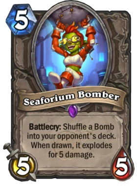 Hearthstone Boomsday Project - Seaforium Bomber
