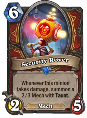 Hearthstone Boomsday Project - Security Rover