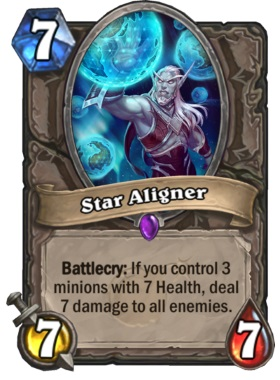 Hearthstone Boomsday Project - Star Aligner