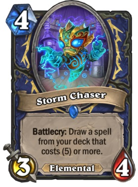 Hearthstone Boomsday Project - Storm Chaser