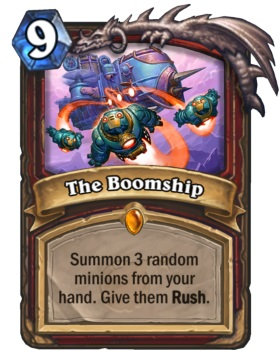 Hearthstone Boomsday Project - The Boomship