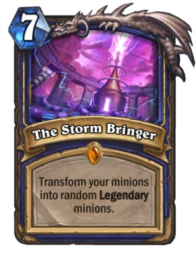 Hearthstone Boomsday Project - The Storm Bringer