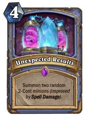 Hearthstone Boomsday Project - Unexpected Results