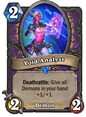 Hearthstone Boomsday Project - Void Analyst