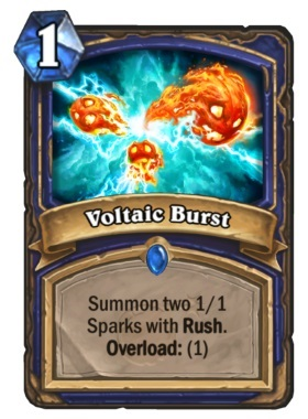 Hearthstone Boomsday Project - Voltaic Burst