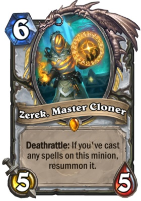 Hearthstone Boomsday Project - Zerek, Master Cloner