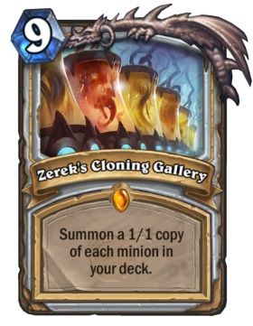 Hearthstone Boomsday Project - Zerek's Cloning Gallery