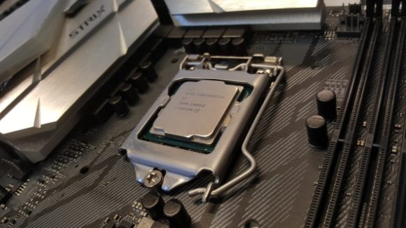 Intel CPU and motherboard