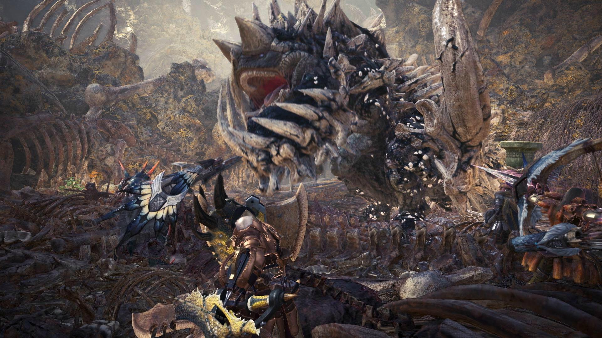 monster hunter combat
