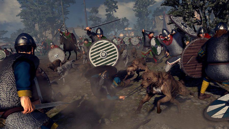 New PC games - Total War Saga Thrones of Britannia