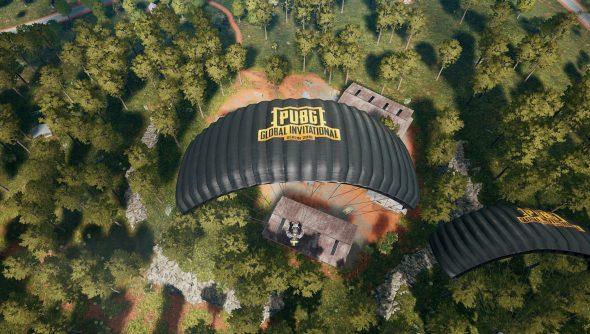 PUBG Sanhok parachute