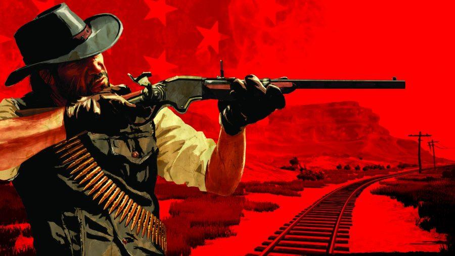 Red Dead Redemption art
