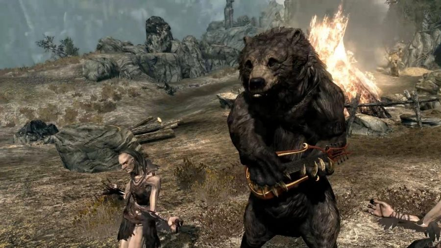 Skyrim mods - Bear Musician