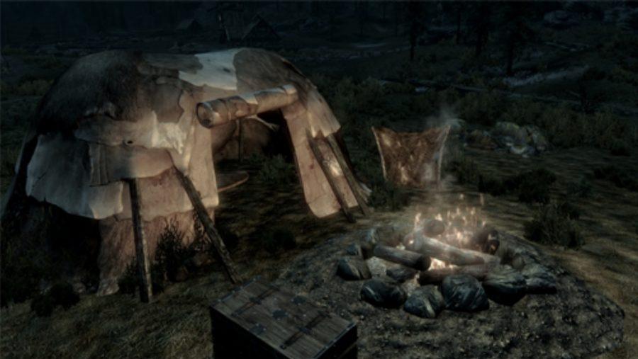Skyrim mods - Camping Kit