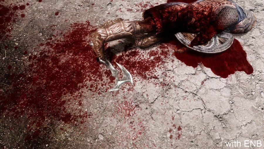 Skyrim mods - Enhanced Blood