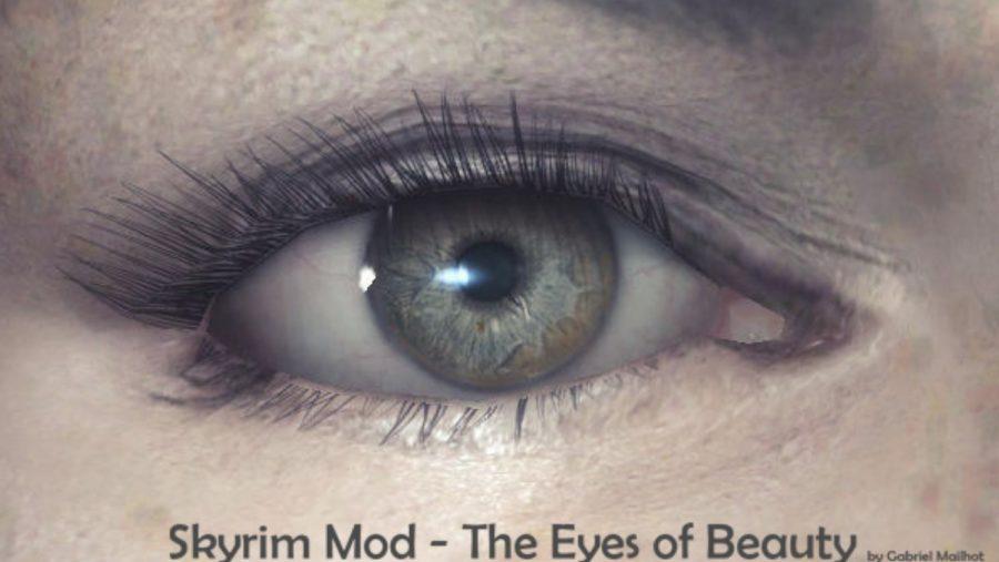 Skyrim mods - Eyes of Beauty