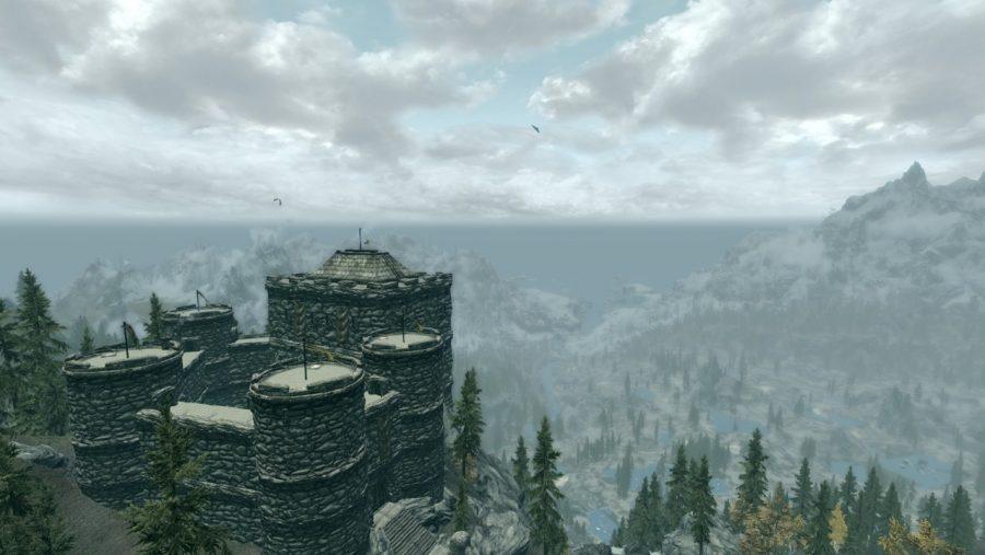 Skyrim mods - Greystone castle