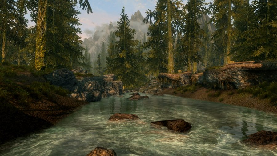 Skyrim mods - Immersive Saturation Boost
