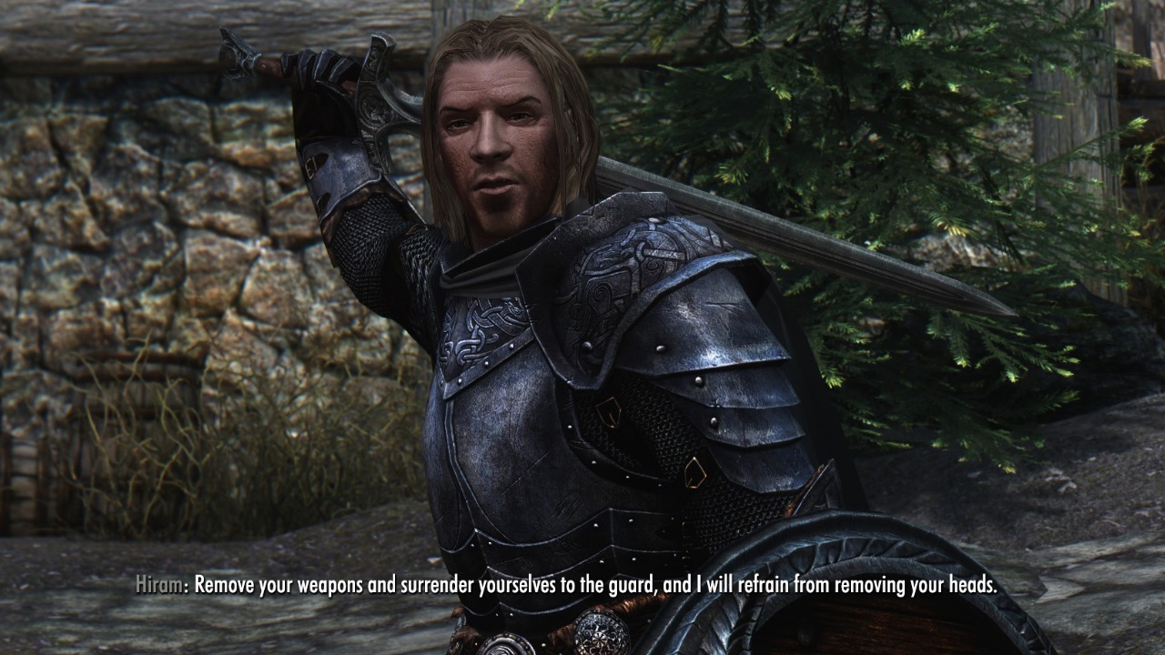 how to give npc armor skyrim