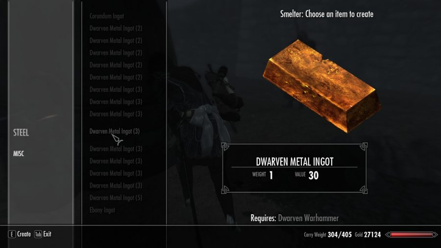 Skyrim mods - Reverse Crafting