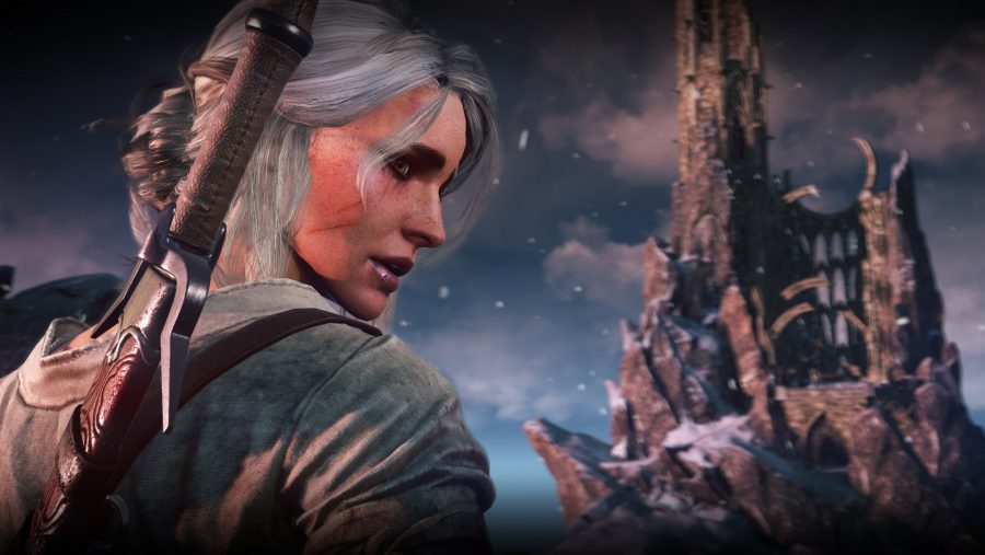 The Witcher 4 Ciri back