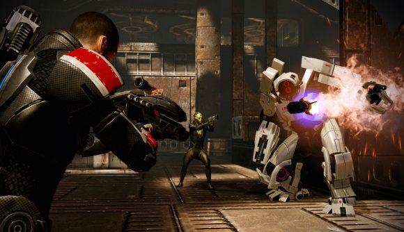 Best Space Games - Mass Effect 2