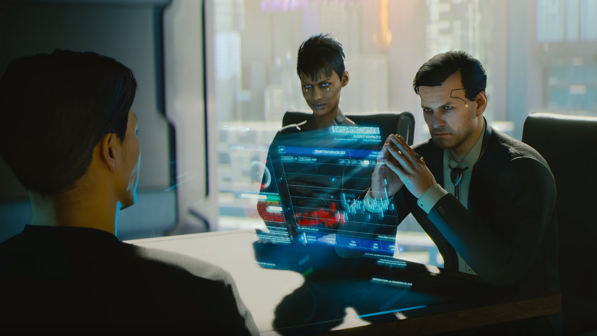 Cyberpunk 2077 is playable at E3 – but only by the devs
