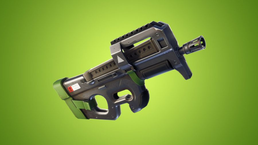 Fortnite patch 5.1 - compact SMG