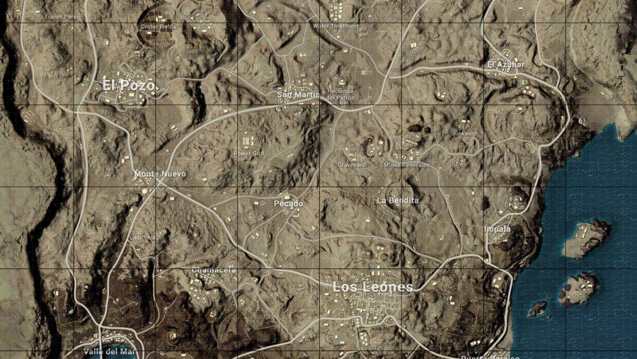 fortnite vs pubg map miramar