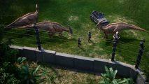 Jurassic World Evolution enclosure