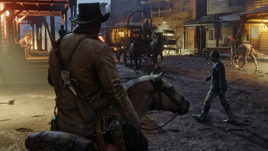 Red Dead Redemption 2 town