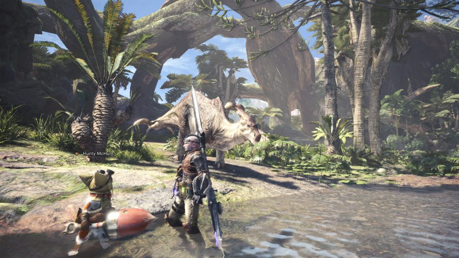 Mosnter Hunter World PC graphics high